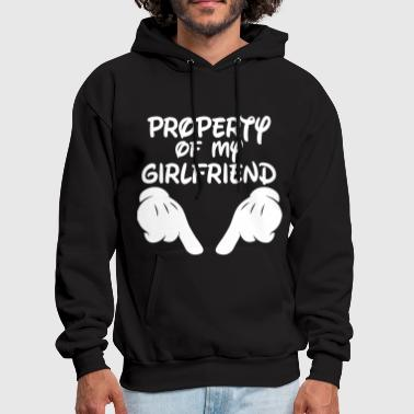 Property Property Of My Girlfriend - Men's Hoodie