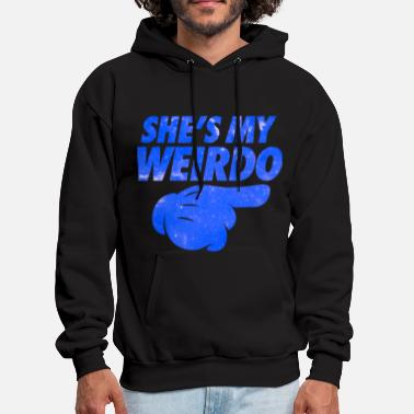 Lesbian She's My Weirdo Galaxy - Men's Hoodie