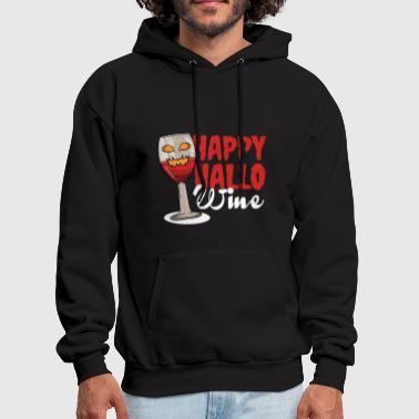 Red Wine Wine red wine Halloween - Men's Hoodie