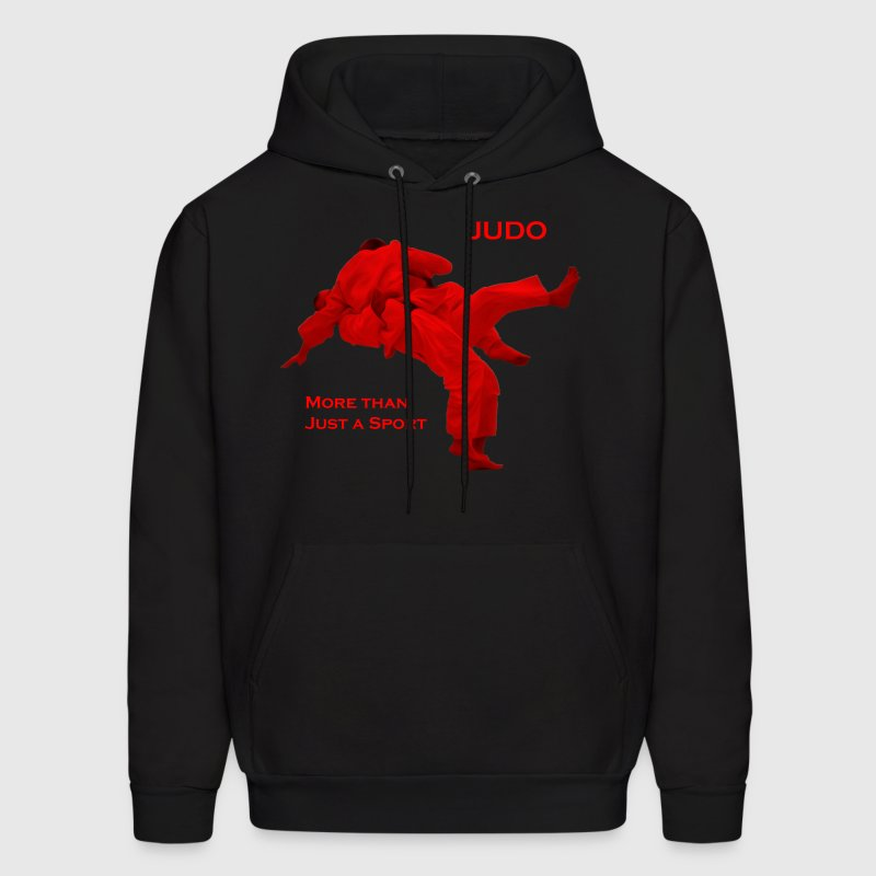 Judo - More than Just a Sport (Frontfacing) (Hoodi - Men's Hoodie