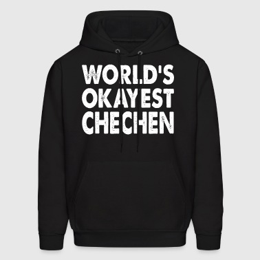 World's Okayest Chechen - Men's Hoodie