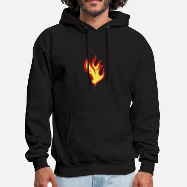 Flame flame fire 310 - Men's Hoodie