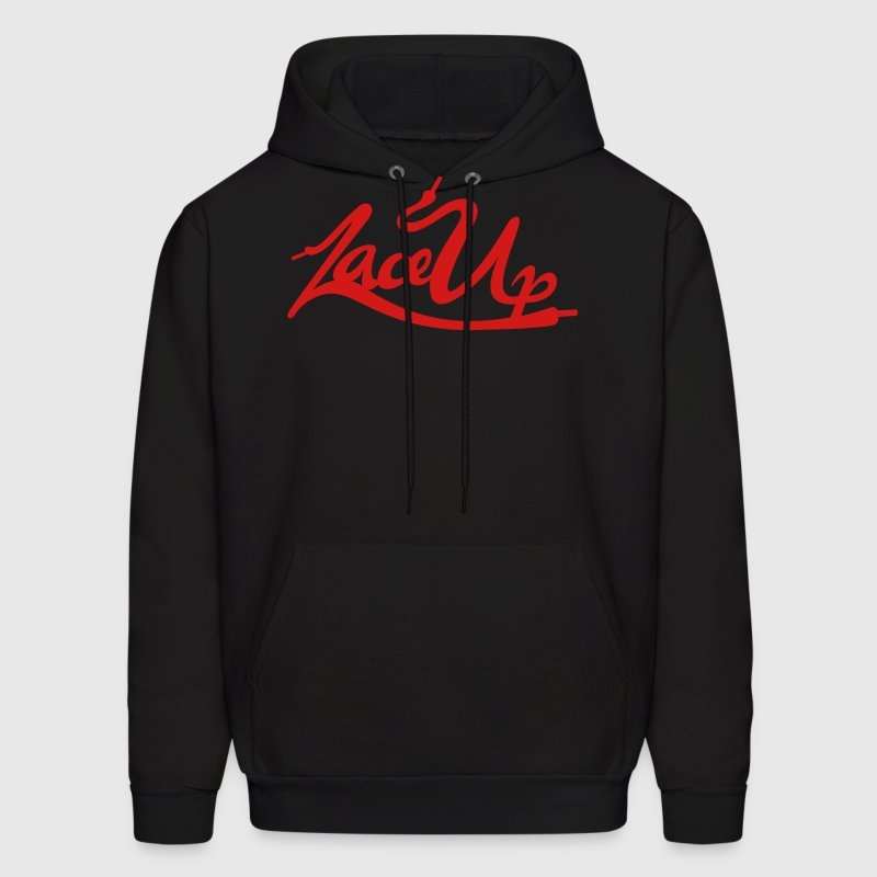 Lace Up Vector - Men's Hoodie