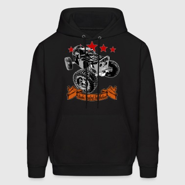 The Black WIDOW - Radio Control in Motion - Men's Hoodie