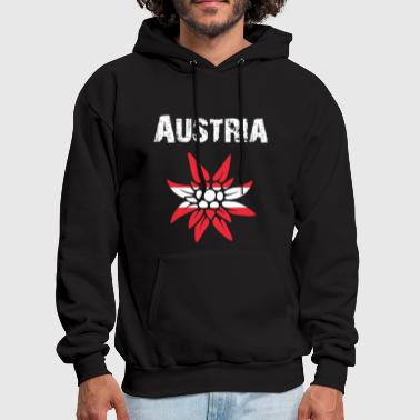 Kitzbühel Nation-Design Austria Edelsweiss rtxxkF - Men's Hoodie