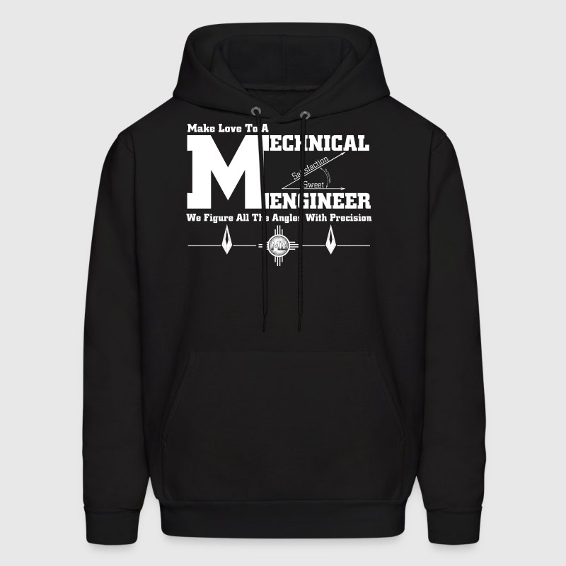 Make Love To A Mechanical Engineer - Men's Hoodie