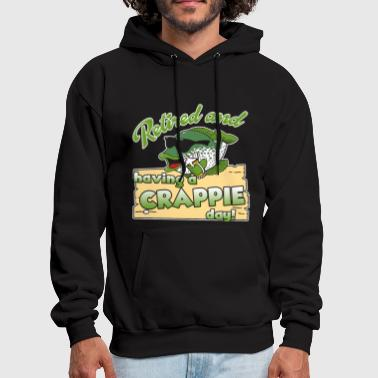 Crappie Fishing Crappie Fishing Shirt - Men's Hoodie