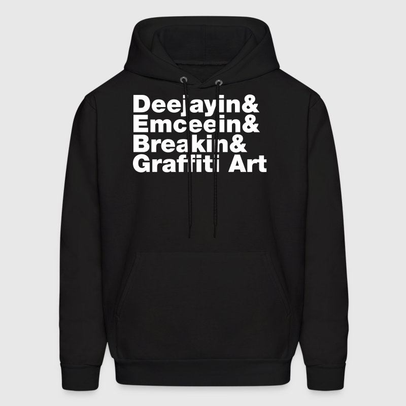 Four Elements of Hip Hop - Men's Hoodie