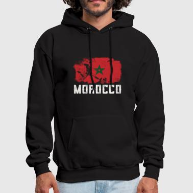 Morocco Morocco Soccer Vintage Shirt - Men's Hoodie