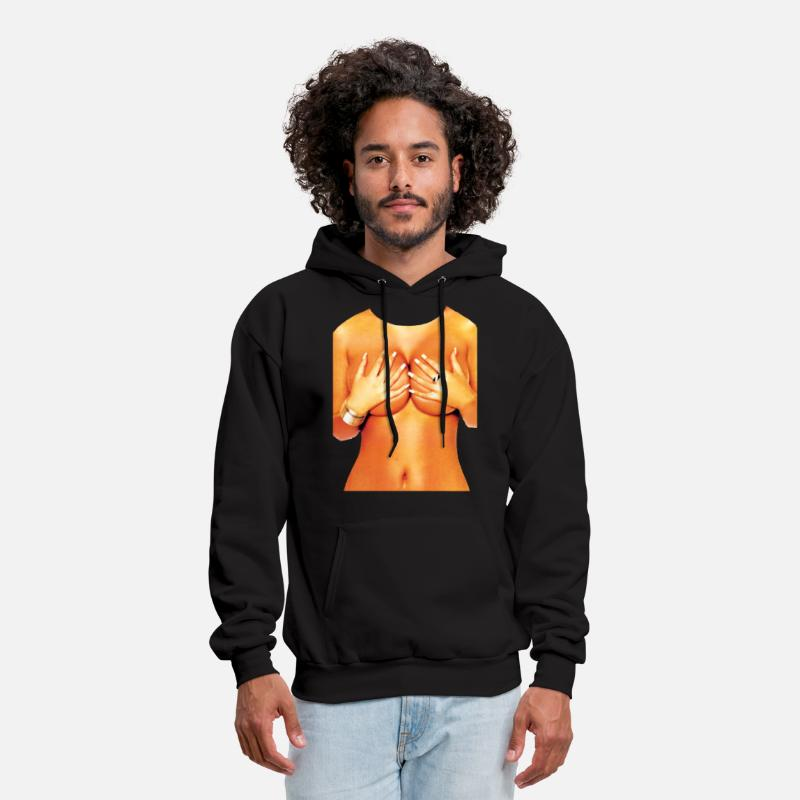 Movie Hoodies & Sweatshirts - Tits nude sexy - Men's Hoodie black