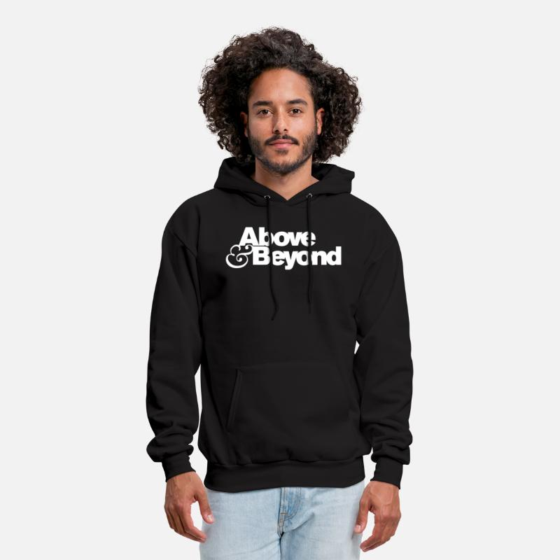 Beyond Hoodies & Sweatshirts - Above & Beyond Logo - Men's Hoodie black