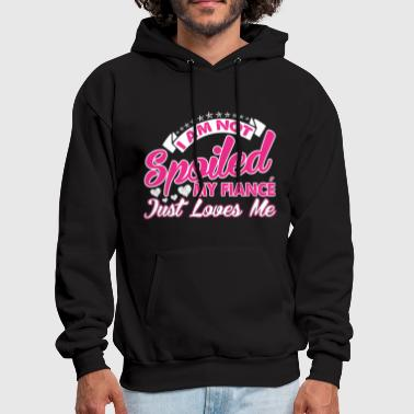 Army Fiance Fiance - I am not spoiled, he just loves me - Men's Hoodie