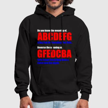 The Meaning of abcdefg - Men's Hoodie