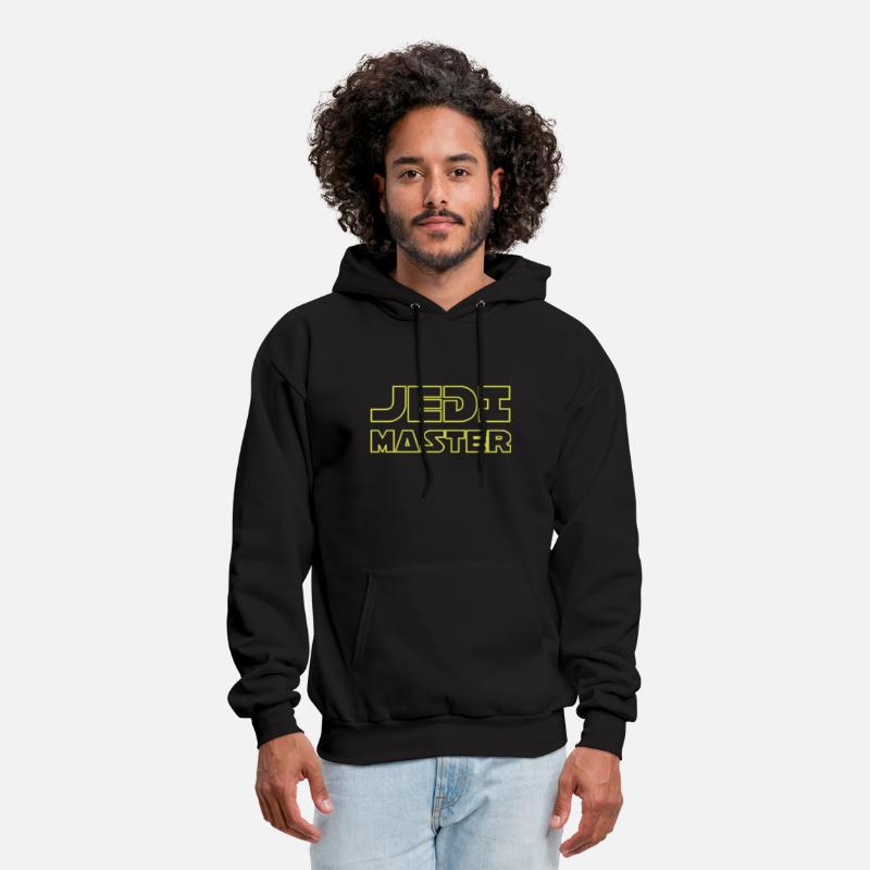 Movie Hoodies & Sweatshirts - Jedi Master - Men's Hoodie black