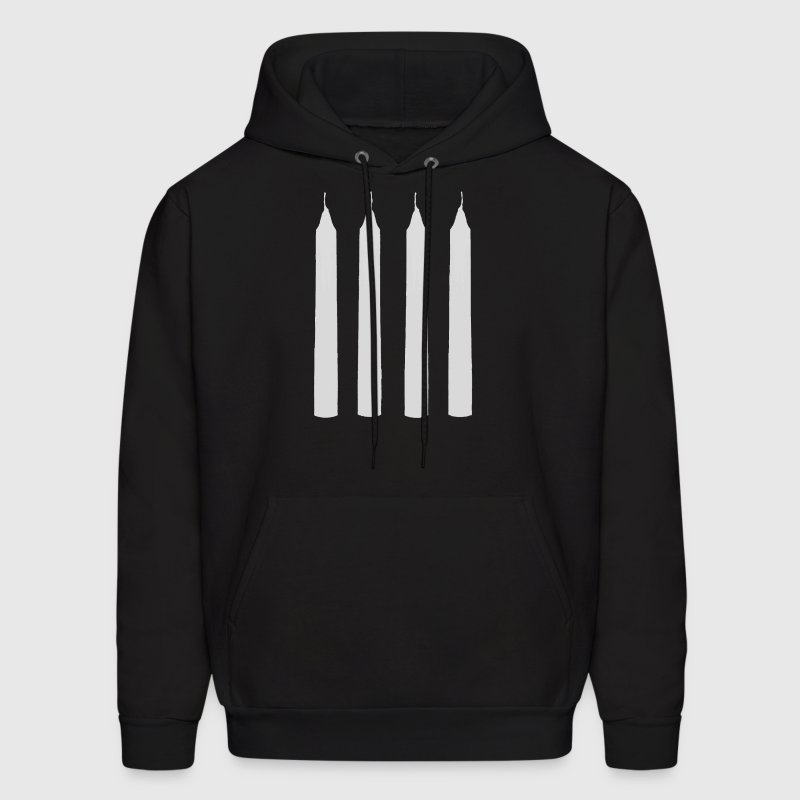 four candles - Men's Hoodie