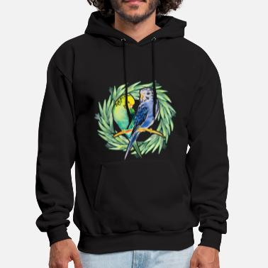 Parakeet Parakeet Bird Color Shirt - Men's Hoodie