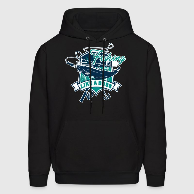 Fishing Catfish Shirt - Men's Hoodie