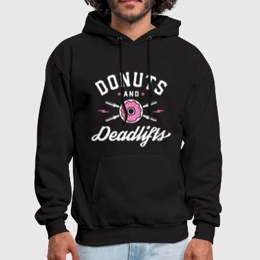 Donuts And Deadlifts - Men's Hoodie