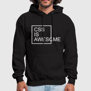 Pc CSS Is Awesome  - Men's Hoodie