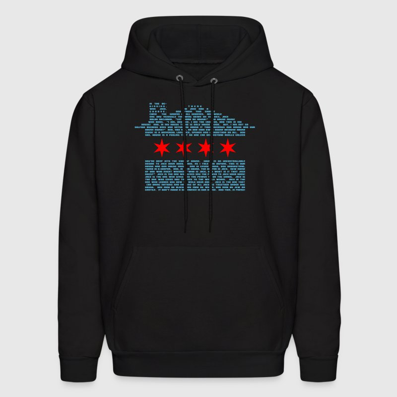 Jack's Chicago Flag - EDM - Men's Hoodie