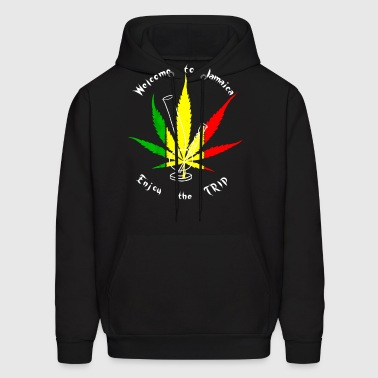 Welcome To Jamaica - Men's Hoodie
