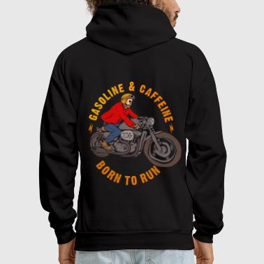 gasoline and caffeine - Men's Hoodie