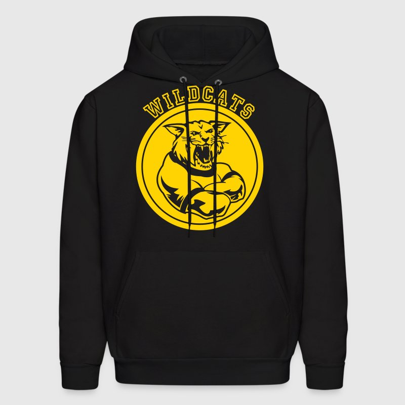 Wildcats or Wilcat Sports Team Mascot - Men's Hoodie