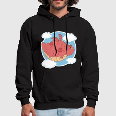 Dragon Cute - Men's Hoodie