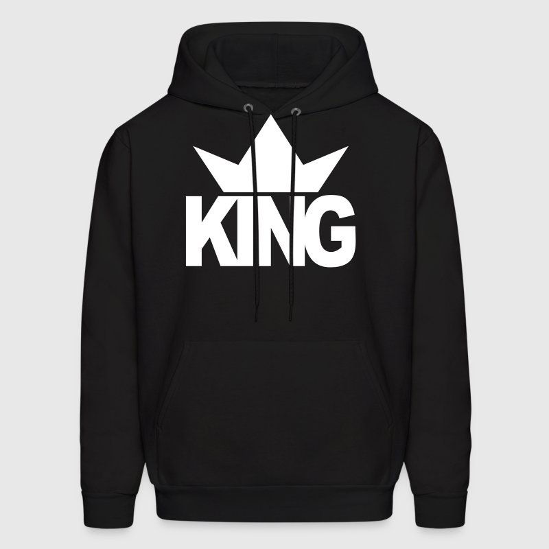KING CROWN - Men's Hoodie