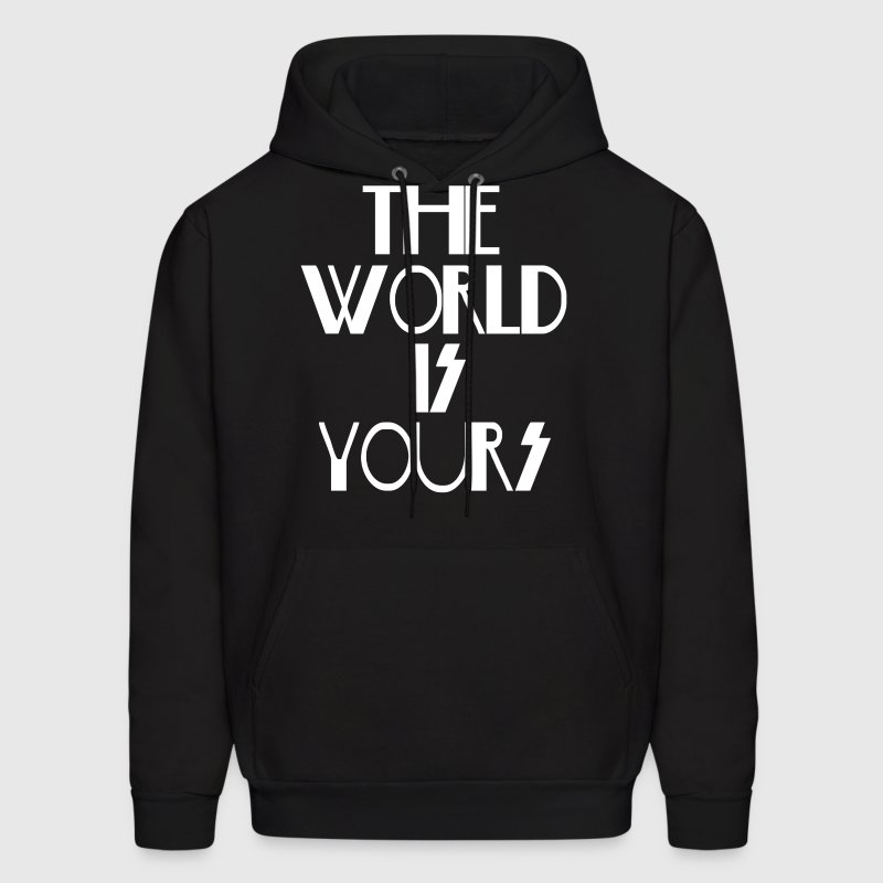 The World Is Yours - Men's Hoodie