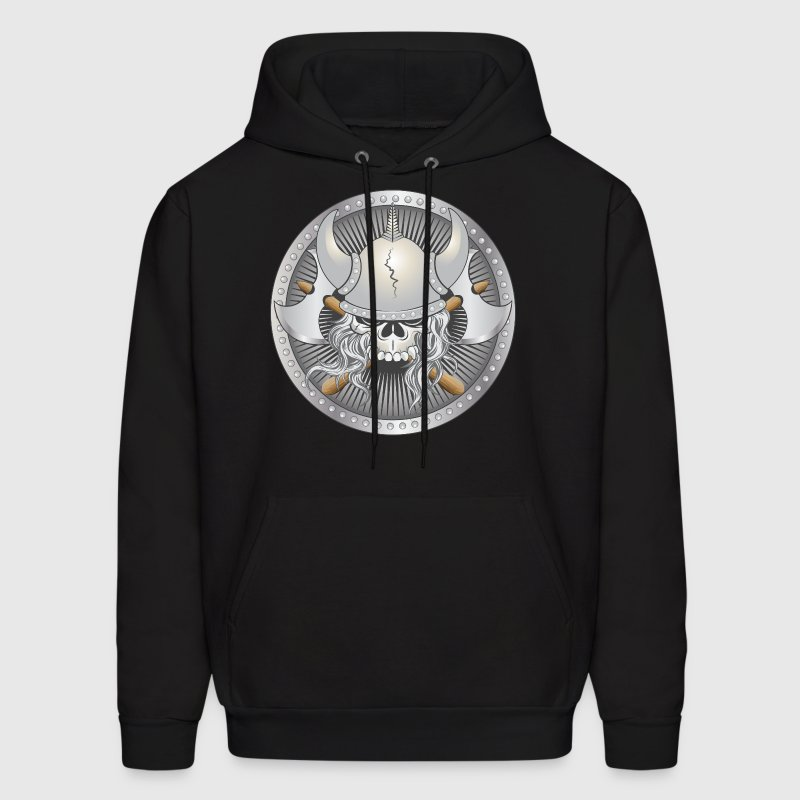Viking Warrior Skull - Men's Hoodie