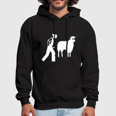 rude sheep - Men's Hoodie