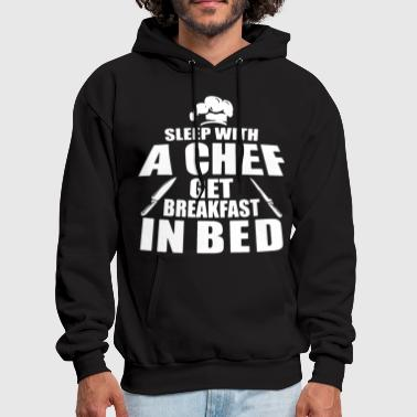 sleep with a bbq t shirts - Men's Hoodie