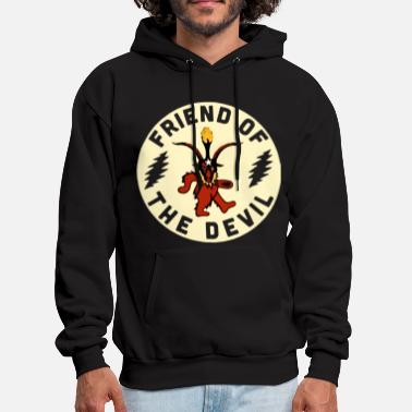 Friend Grateful Dead Friend Of The Devil Shirt friend - Men's Hoodie