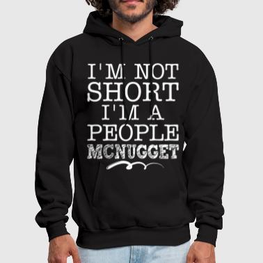 I ama not short I am a people mcnugget disney - Men's Hoodie