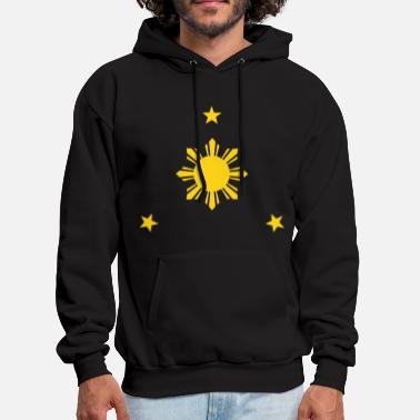 Philippines &amp Sun & Stars Kids Tee Shirt by AiReal Apparel - Men's Hoodie