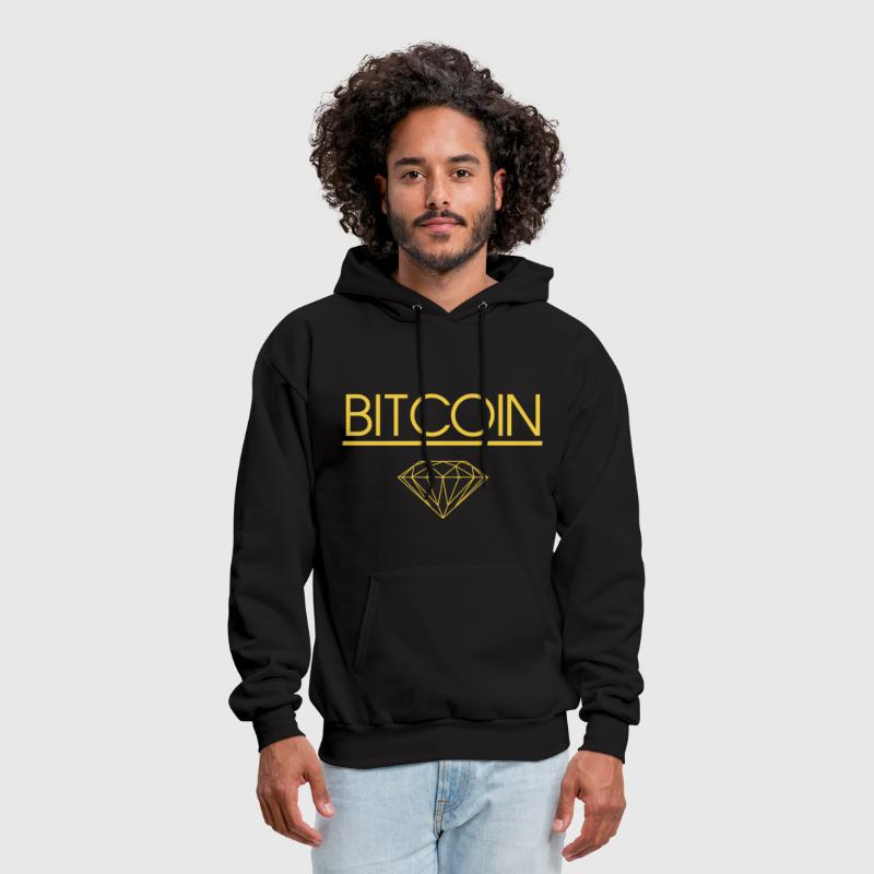 Bitcoin Diamond T Shirt - Men's Hoodie