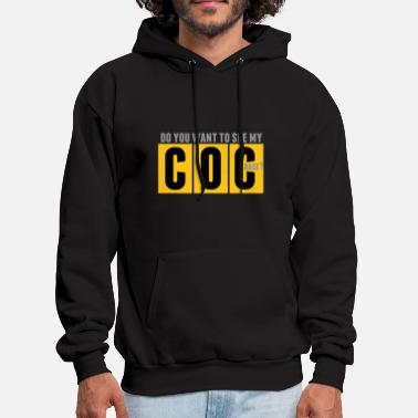 Clash Of Clans do_you_want_to_see_my_coc - Men's Hoodie