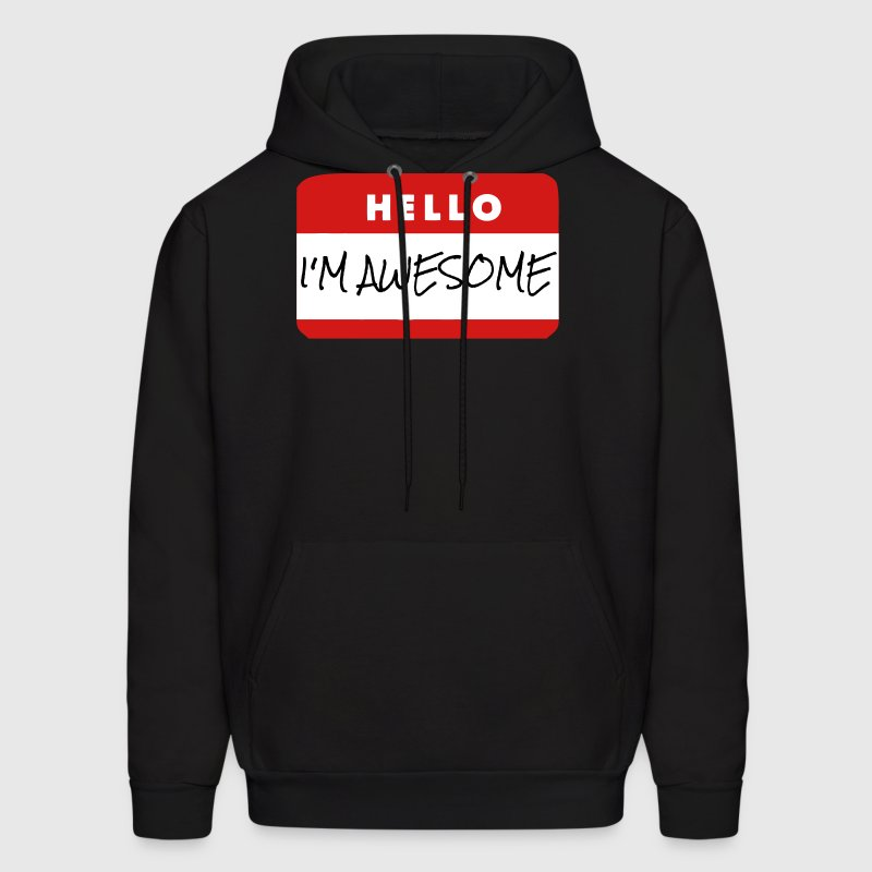Hello, I'm Awesome - Men's Hoodie