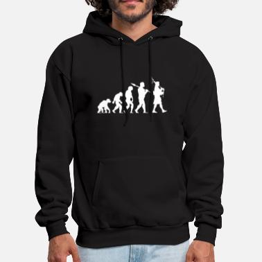 Bagpipes Evolution of a Scottish Bagpiper - Men's Hoodie