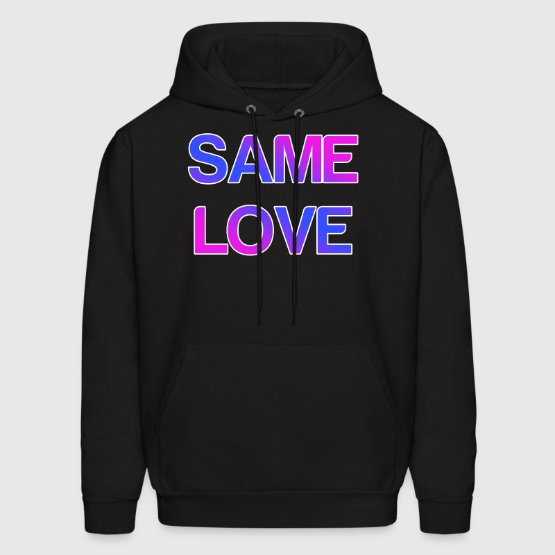 Same Love LGBT Design - Men's Hoodie