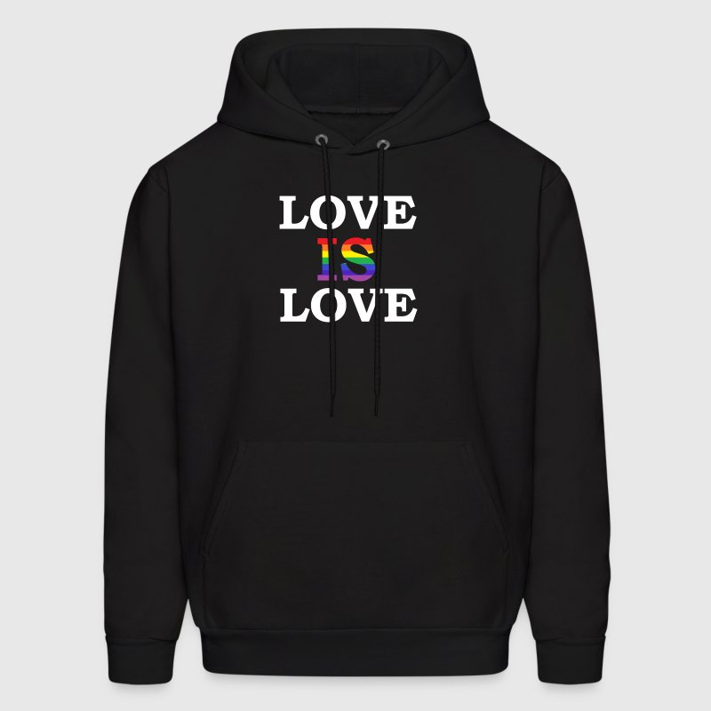 LOVE IS LOVE - Men's Hoodie