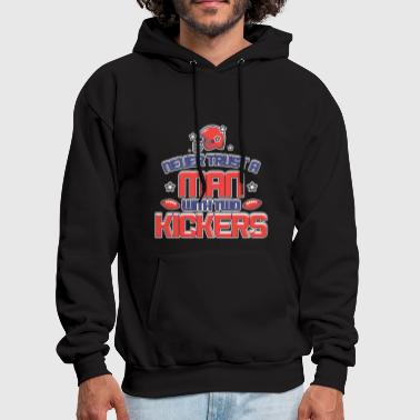 Kicker WITH TWO KICKERS - Men's Hoodie