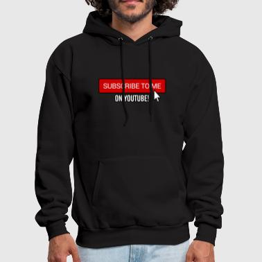 Subscribe on YouTube - Men's Hoodie
