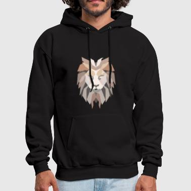 Lion Head - Lion Mane - Men's Hoodie