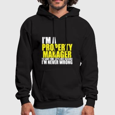 Property Property Manager T-shirt - Men's Hoodie