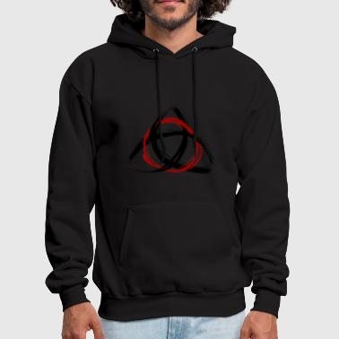 The Trinity - Red - Men's Hoodie