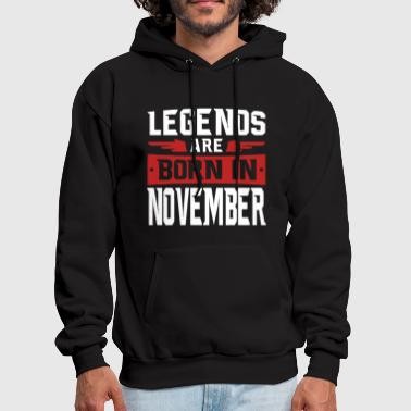 November Legends are born in November - Men's Hoodie