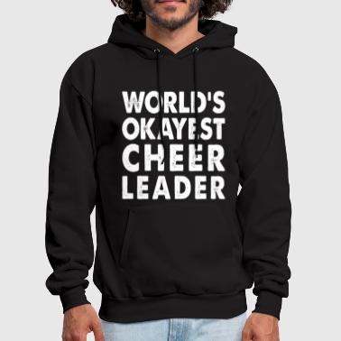 World's Okayest Cheerleader - Men's Hoodie