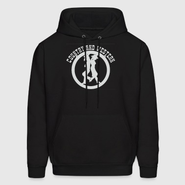 COUNTRY AND WESTERN MUSIC - Men's Hoodie